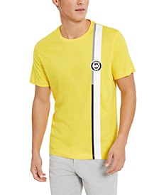 Men's Moto Stripe Graphic T-Shirt