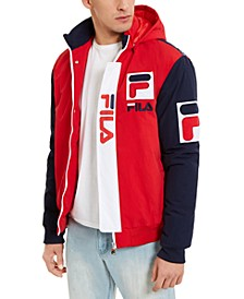 Men's P1 Fila Tech Logo Hooded Jacket