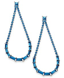 INC Crystal Open Drop Earrings, Created For Macy's