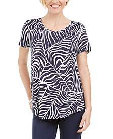 Printed Short-Sleeve T-Shirt, Created for Macy's