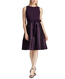 Fit-and-Flare Cocktail Dress, Created For Macy's