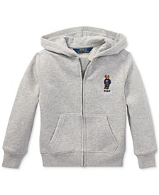 Toddler Boys Polo Bear Fleece Hoodie, Created For Macy's