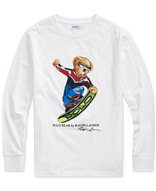 Big Boys Ski Bear Cotton Jersey T-Shirt