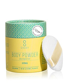 Natural Body Powder - Citrus Sensitive Formula