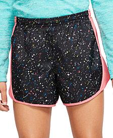Nike Big Girls Dri-FIT Tempo Printed Running Shorts