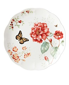 Butterfly Meadow Red Monarch Dinner Plate, Created for Macy's