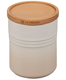 22-oz. Canister with Wood Lid