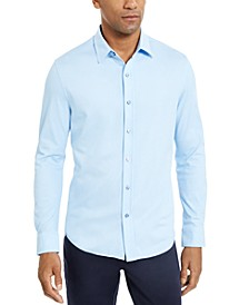 Men's Supima Cotton Birdseye-Knit Shirt, Created for Macy's