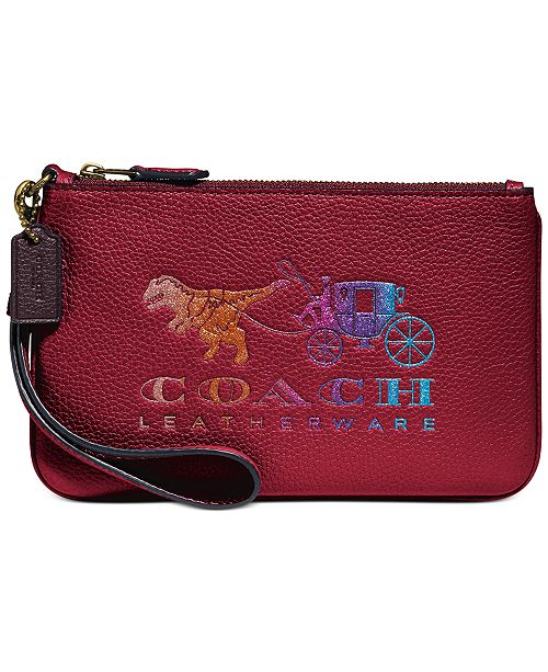 COACH Rexy and Carriage Wristlet, Created For Macy's
