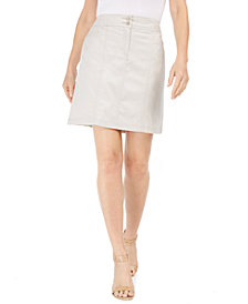 Karen Scott Woven Skort, Created for Macy's