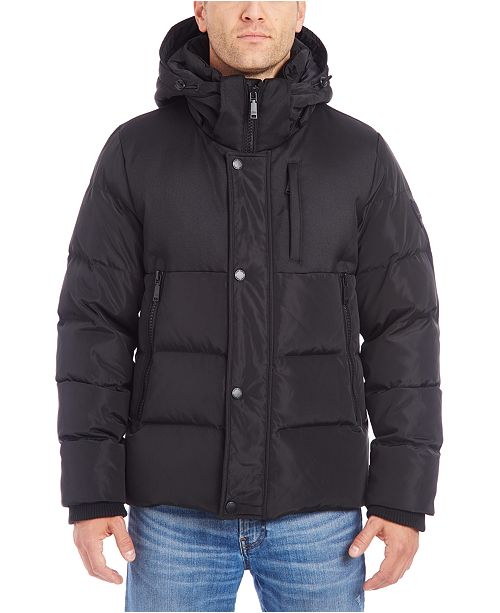 Vince Camuto Men's Hooded Puffer Jacket
