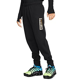 Men's Just Do It Fleece Metallic Joggers