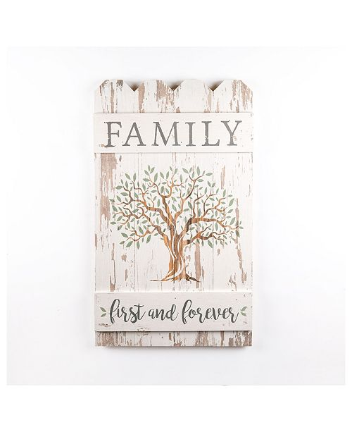P Graham Dunn Family First And Forever Wall Art