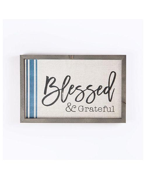 P Graham Dunn Blessed & Grateful Wall Art