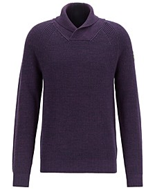 BOSS Men's Afairbus Rib-Knit Sweater