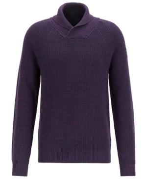 Boss Men's Afairbus Rib-Knit Sweater