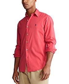 Men's Slim Fit Twill Shirt