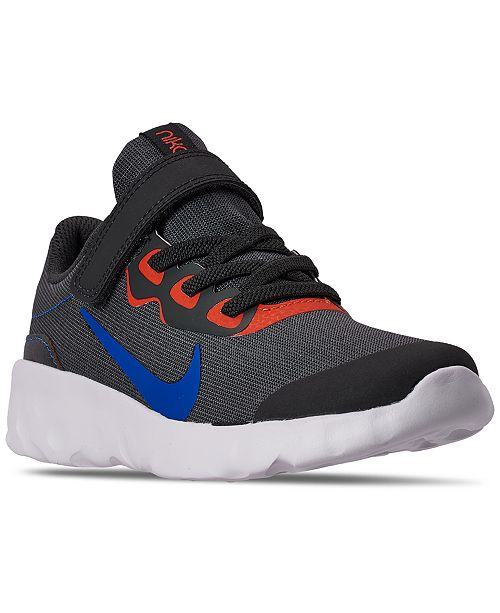 Nike Little Boys Explore Strada Stay-Put Closure Casual Athletic Sneakers from Finish Line