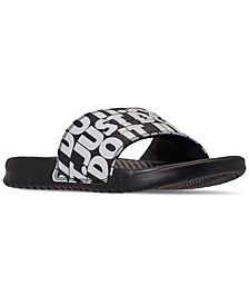 Men's Benassi JDI Print Slide Sandals from Finish Line