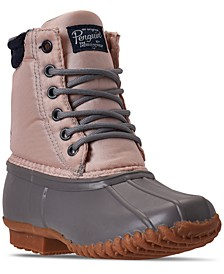 Big Girls Addison Duck Boots from Finish Line