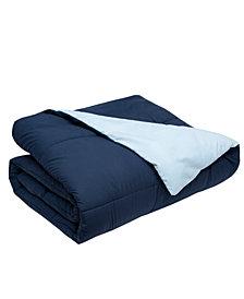 Elite Home Full/Queen Reversible Down Alternative Comforter