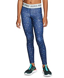 Big Girls Dri-FIT Pro Warm Printed Training Tights