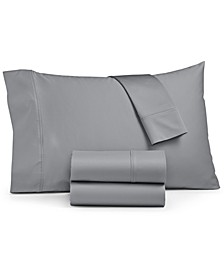 Ashford 1500-Thread Count 4-Pc. Solid King Sheet Set