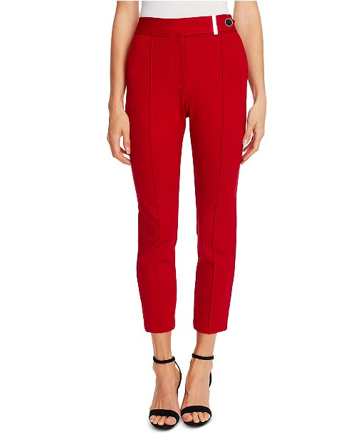 CeCe Seamed Ponte Pants
