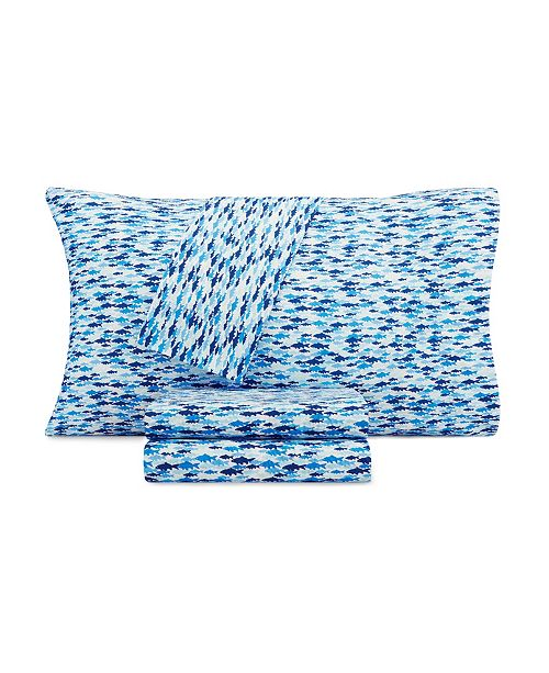 Nautica Kids School of Fish Full Sheet Set