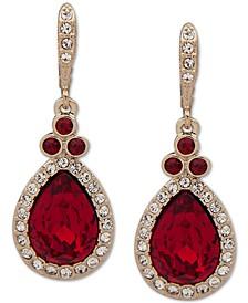 Pavé Pear Drop Earrings
