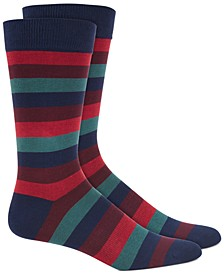 Men's Striped Socks, Created for Macy's