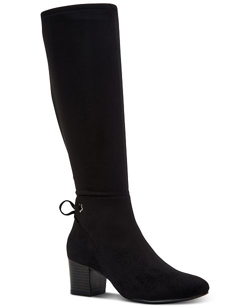 Charter Club Women's Jaccque Tall Stretch Boots, Created For Macy's