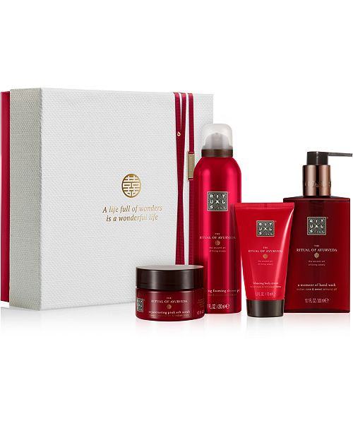 RITUALS 4-Pc. The Ritual Of Ayurveda Rebalancing Ritual Gift Set