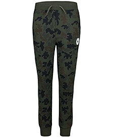 Big Boys Camo-Print Jogger Pants