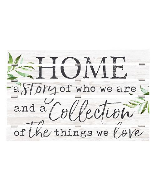 P Graham Dunn Home A Story Of Who We Are And A Collection Of The Things We Love Wall Art