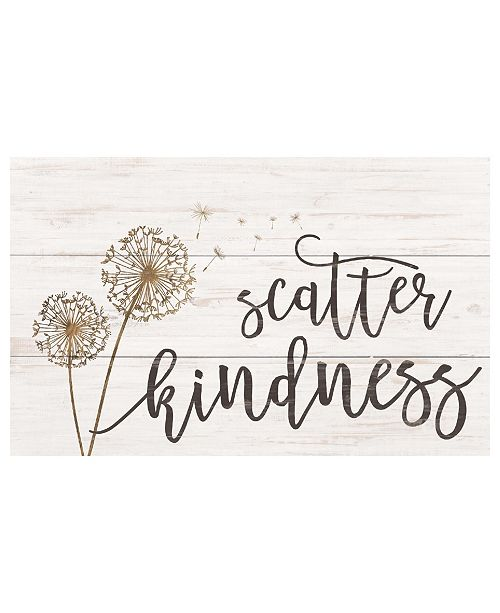 P Graham Dunn Scatter Kindness Wall Art