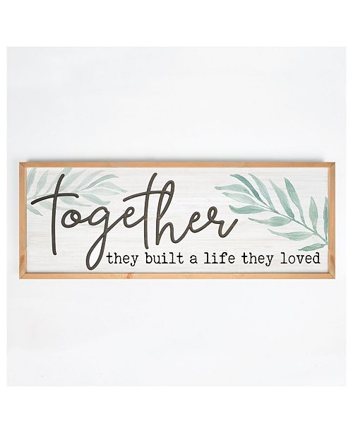 P Graham Dunn Together They Built A Life They Loved Wall Art