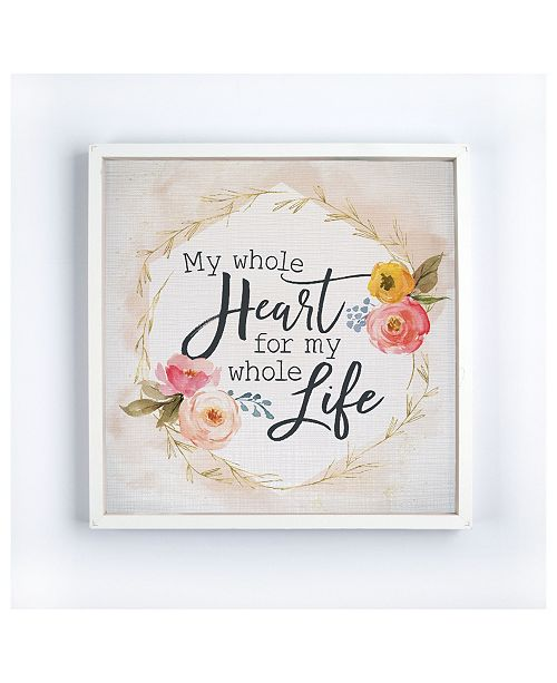 P Graham Dunn My Whole Heart For My Whole Life Wall Art