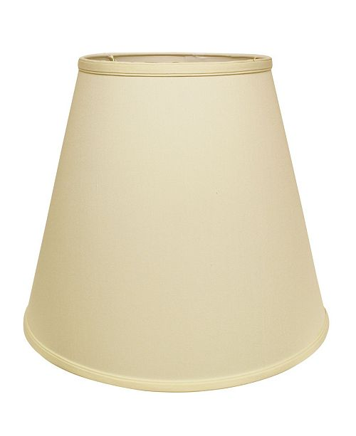 Cloth&Wire Slant Extra Deep Empire Hardback Lampshade with Washer Fitter