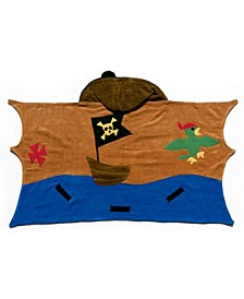 Little and Big Boy Pirate Towel