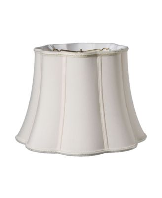 Cloth&Wire Slant Melon Out Scallop Softback Lampshade with Washer Fitter