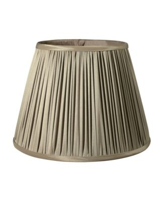 Slant Pencil Pleat Softback Lampshade with Washer Fitter
