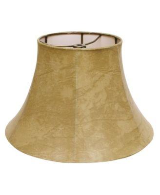 Slant Bell Faux Leather Softback Lampshade