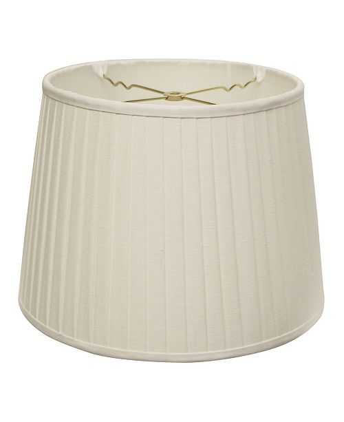 Cloth&Wire Slant Modified Empire Linen Side Pleat Softback Lampshade