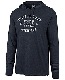 Men's Michigan Wolverines Knockaround Club Long Sleeve Hooded T-Shirt