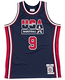 Men's Michael Jordan Authentic USA Jersey