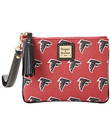 Atlanta Falcons Saffiano Stadium Wristlet