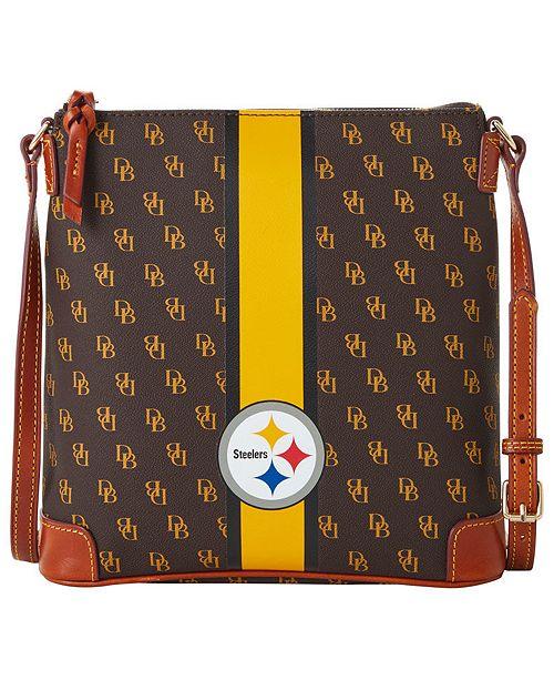 Dooney & Bourke Pittsburgh Steelers Stadium Signature Zip Crossbody