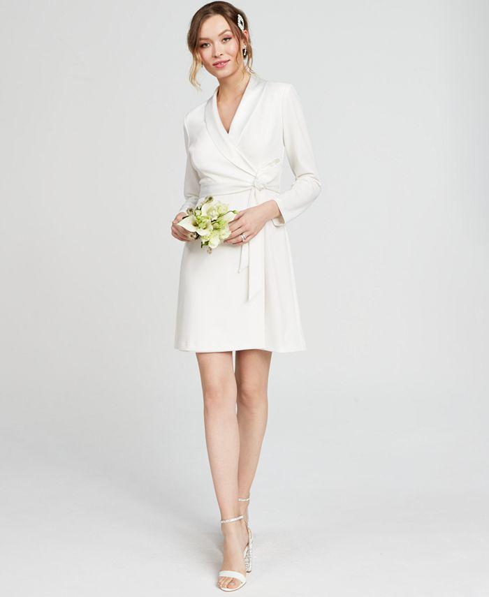 Adrianna Papell - Petite Tuxedo Sheath Dress