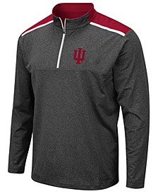 Men's Indiana Hoosiers Snowball Quarter-Zip Pullover